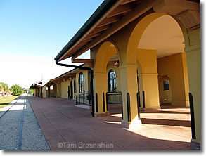 Bikes International Venice Fl Historic train depot Venice